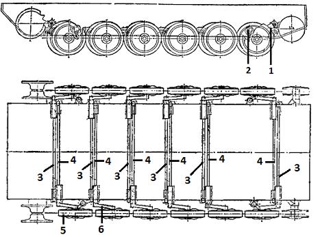 чертежи гусеничного транспортера