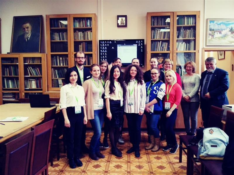 "Doctoral student of the 1st course of the specialty ""Geobotany"" of the Department of Biodiversity and Bioresources Shadmanova Laura attended the IV (XII) International Botanical Conference of Young Scientists in St. Petersburg on April 22-28, 2018"