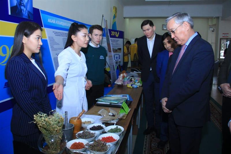 Competition of ideas of youngpeople of Almaty city
