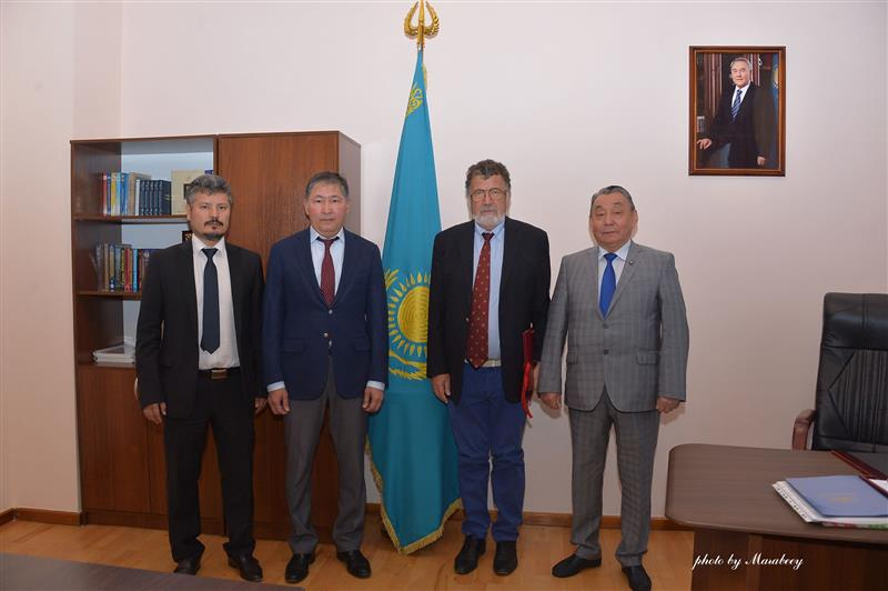 Questions about cooperation between Kazakhstan and International Centers of Relativistic Astrophysics Network have been discussed