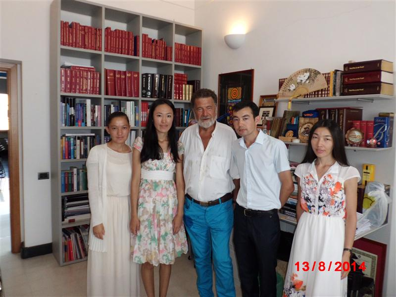 Our students with prof. Remo Ruffini