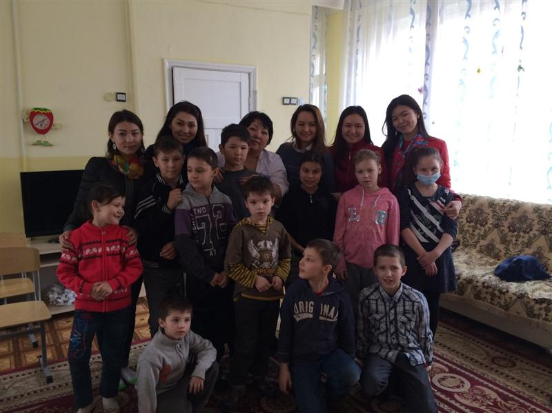 Department of Chinese Studies students visited the orphanage №1