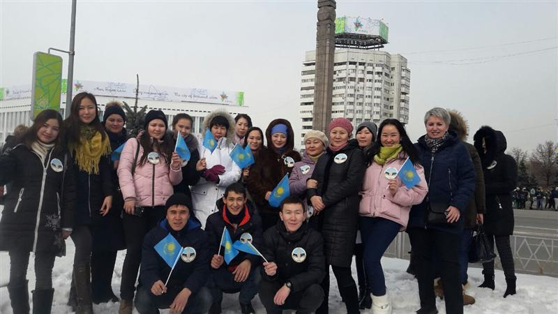 Department of Philosophy at the opening of the 28-winter Universiade