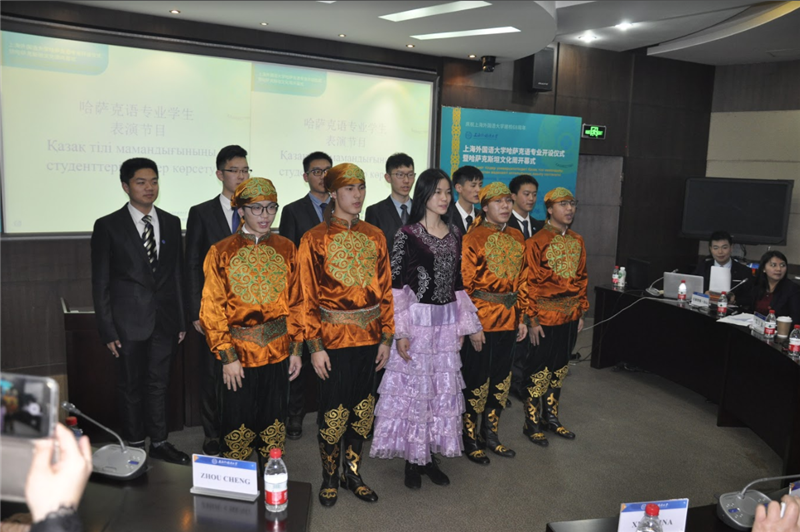 Speech of students of the specialty of the Kazakh language