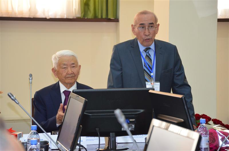 "Opening of scientific-methodical conference ""Kazakh language in the communicative culture: theory and practice""."