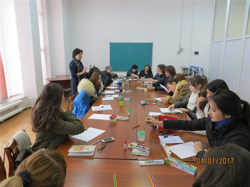 Professor Madalieva Z.B. – Art therapy techniques in psychologist's work (working language Russian).