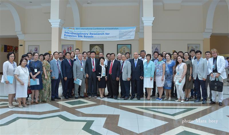"International Conference ""Multiple academic convergence: Interdisciplinary Research for Eurasian Silk Roads"""
