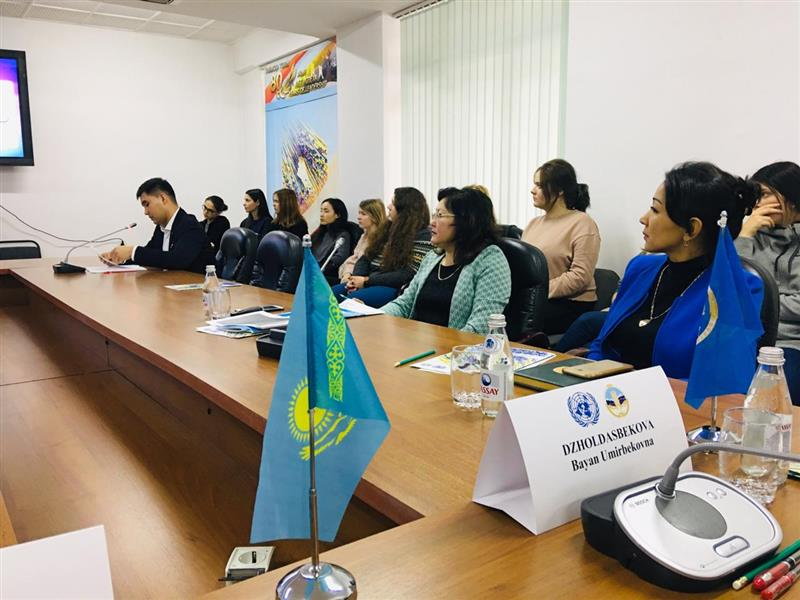 in al-Farabi KazNU under the auspices of the UN, the Union of women KazNU held a seminar on gender policy and equality.