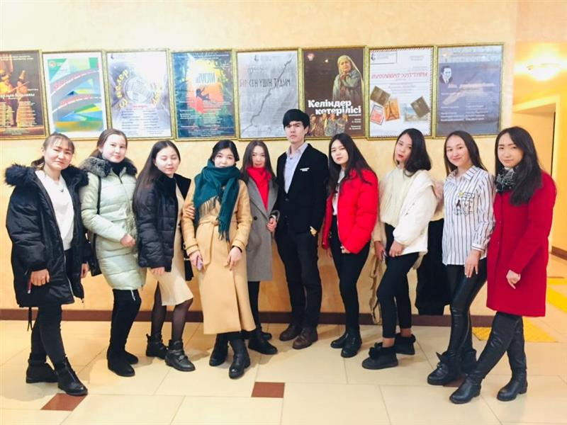 Visit to the Kazakh Academic Theater for Children and Youth named after Gabit Musrepov
