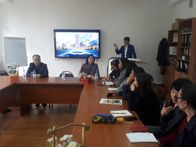 "A round table on the theme ""Youth for green development of Kazakhstan"""