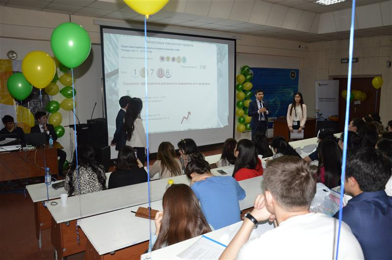 Innovative projects presentation of teams at VIII Republican subject student olympiad from specialities: