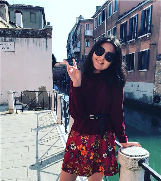 "The 3rd year student of the specialty ""Management"" Karina Bekkulova studies at the University of Ca-Foscari in Venice, Italy."