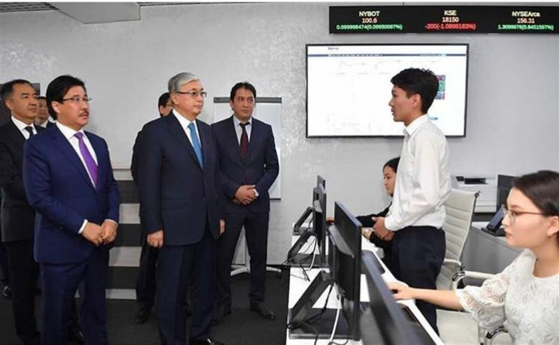The head of state visited the Kazakh national University named after al-Farabi