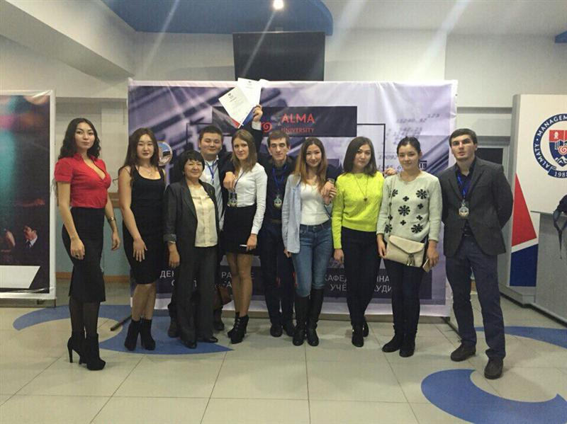 "students of the specialty ""Accounting and audit"" while participating in the competition KVN"