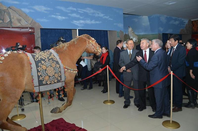 The opening of the historical and artistic exposition