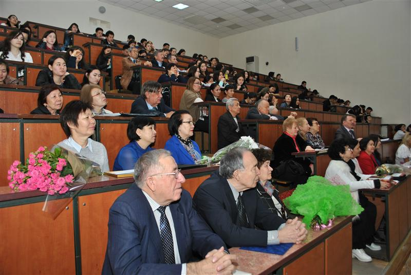 At the conference dedicated to the 75th anniversary of Professor V.M.Inyushin