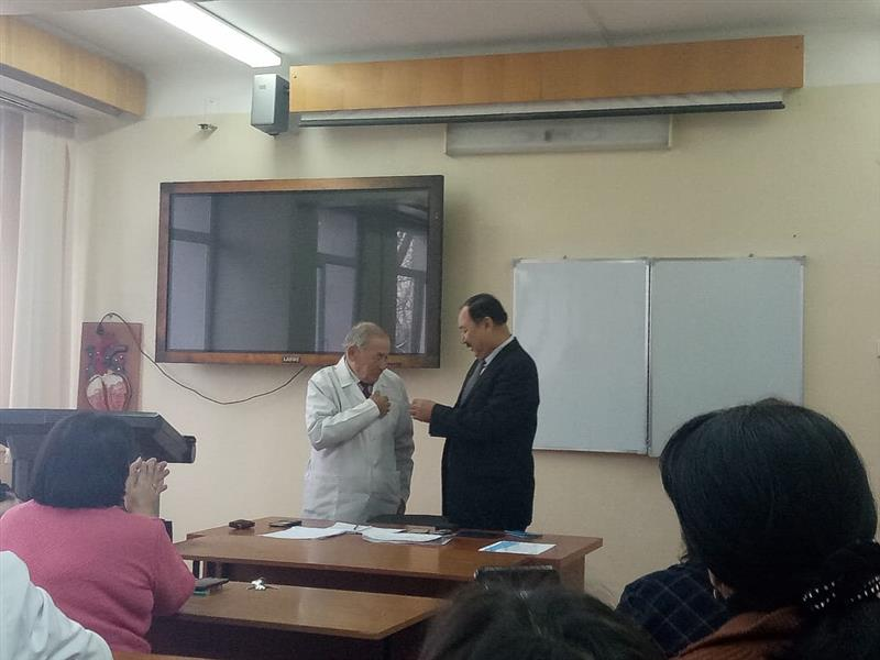 Candidate of Biological Sciences, Professor Tormanov N.T. 80 years