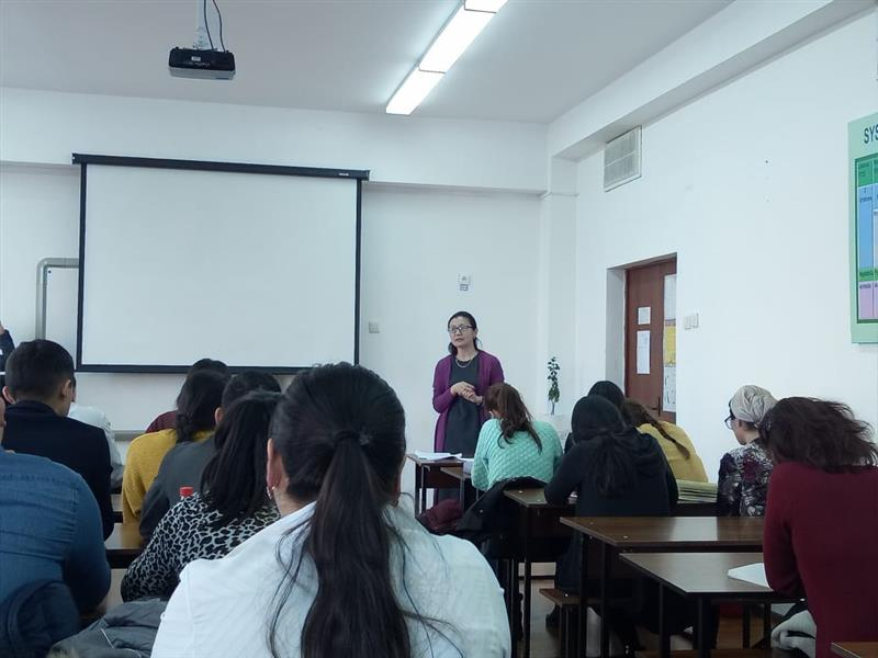 Meeting of doctoral students with teachers and psychologists