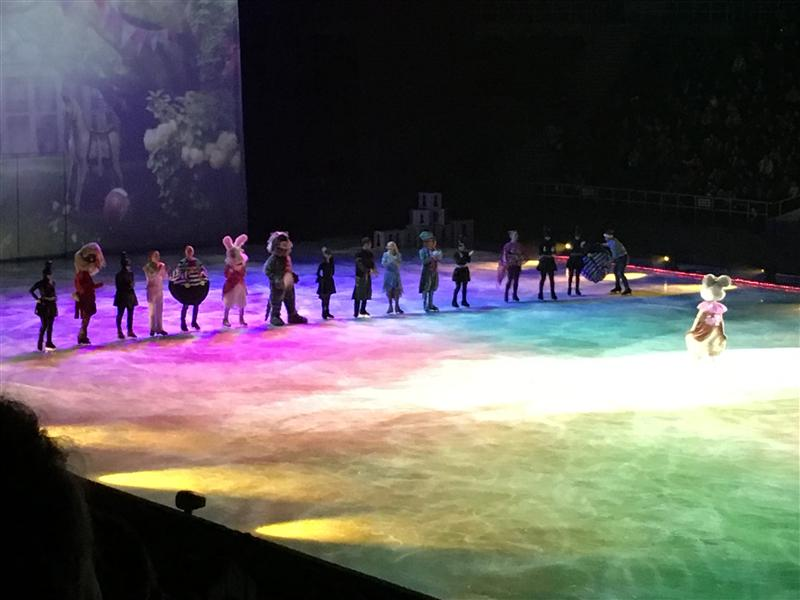 "Magic performance on ice (Russia) ""Alice in the Looking Glass"", December 17, 2017"