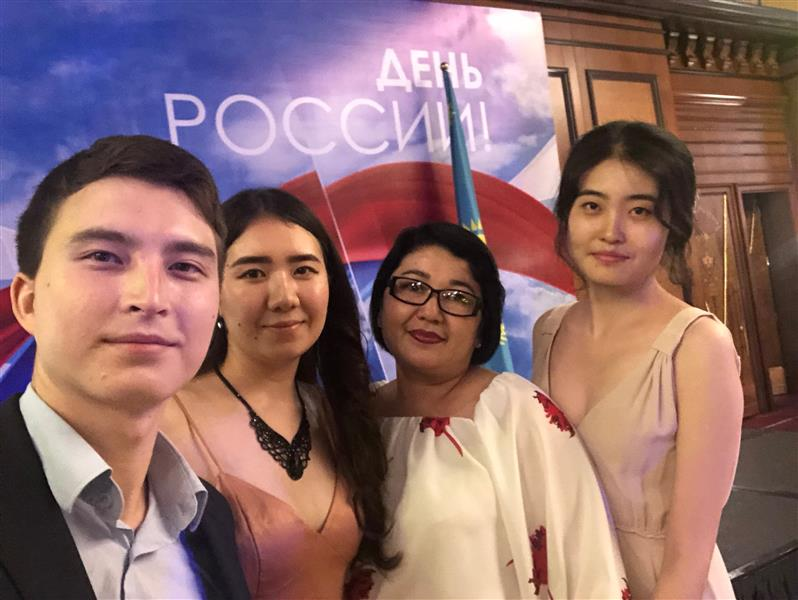 State reception on the occasion of the Day of Russia in Almaty