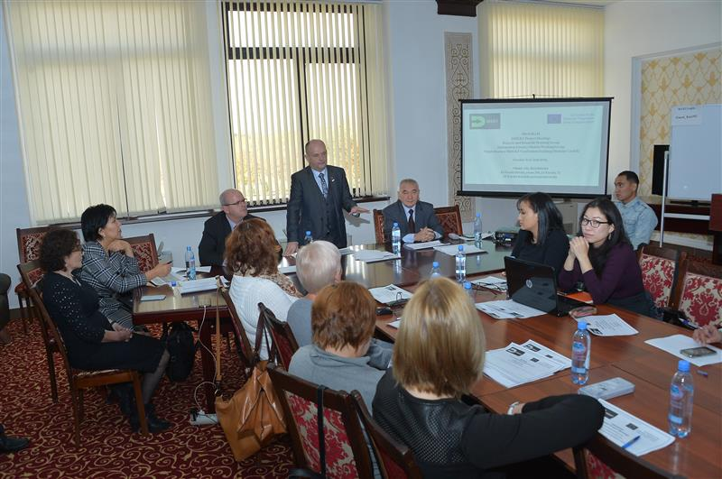 Seminar on information literacy in the framework of the international project ERASMUS+