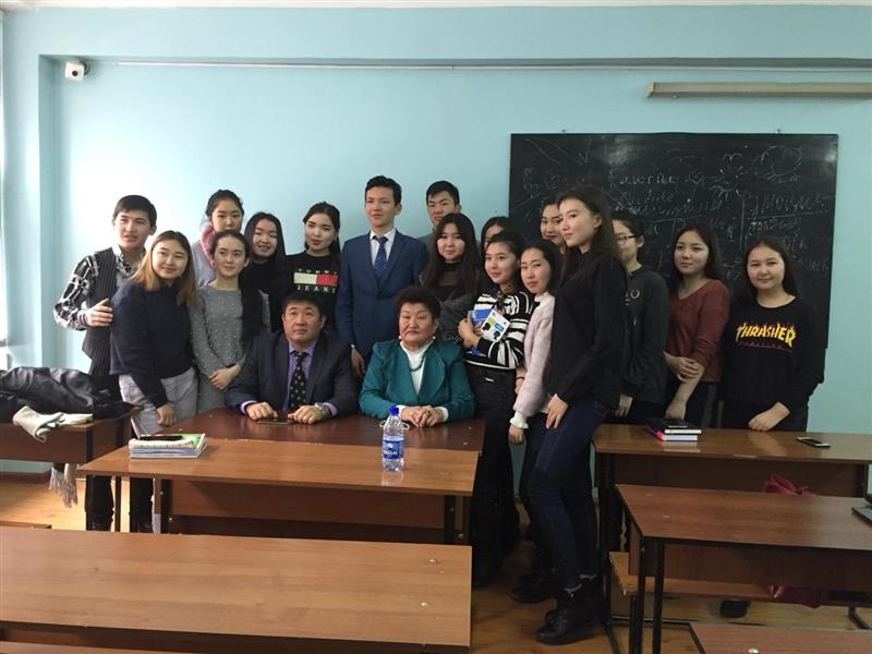 Doctor of Philology Bakytkamal Kanarbava held a master class for students.