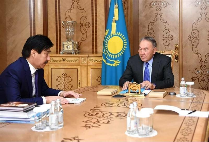 The Head of State of Kazakhstan met with the rector of al-Farabi Kazakh National University.
