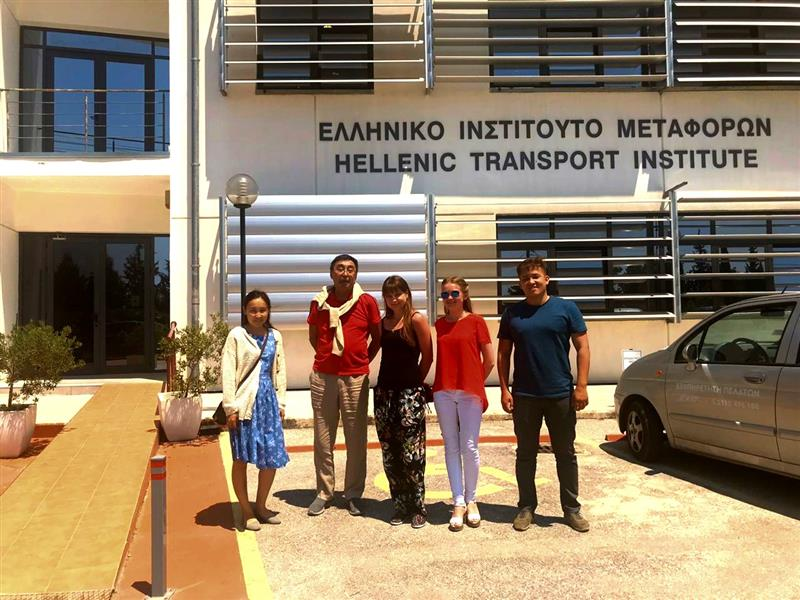 Project workshop at the International Hellenic University  (Greece)