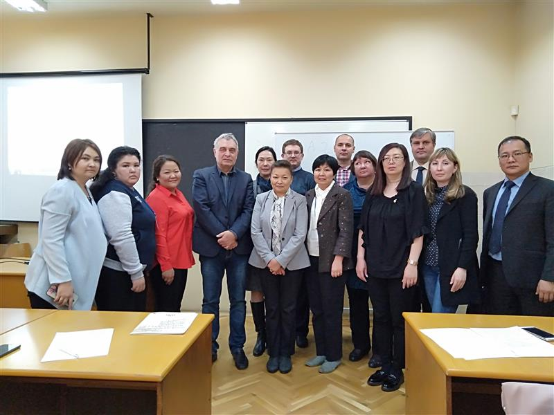 Project workshop at the Sofia Technical University (Bulgaria)