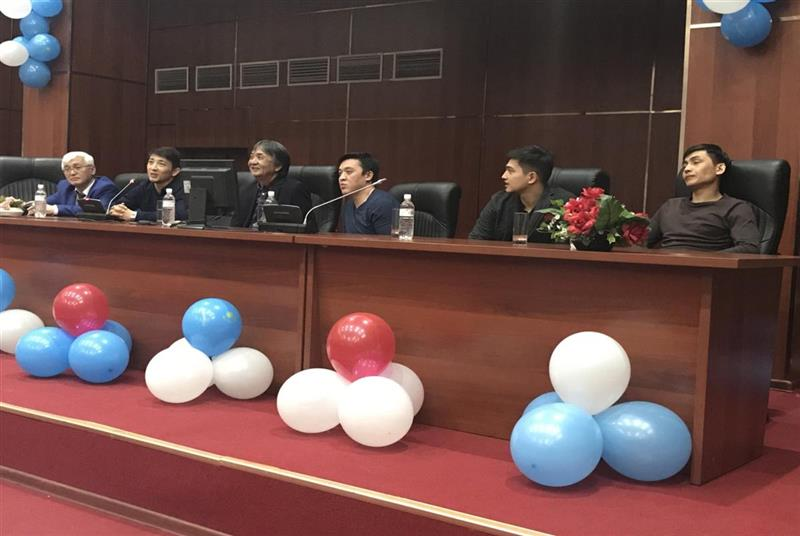 «Zhastar» theater of Astana met with students of the Faculty of Mechanics and Mathematics