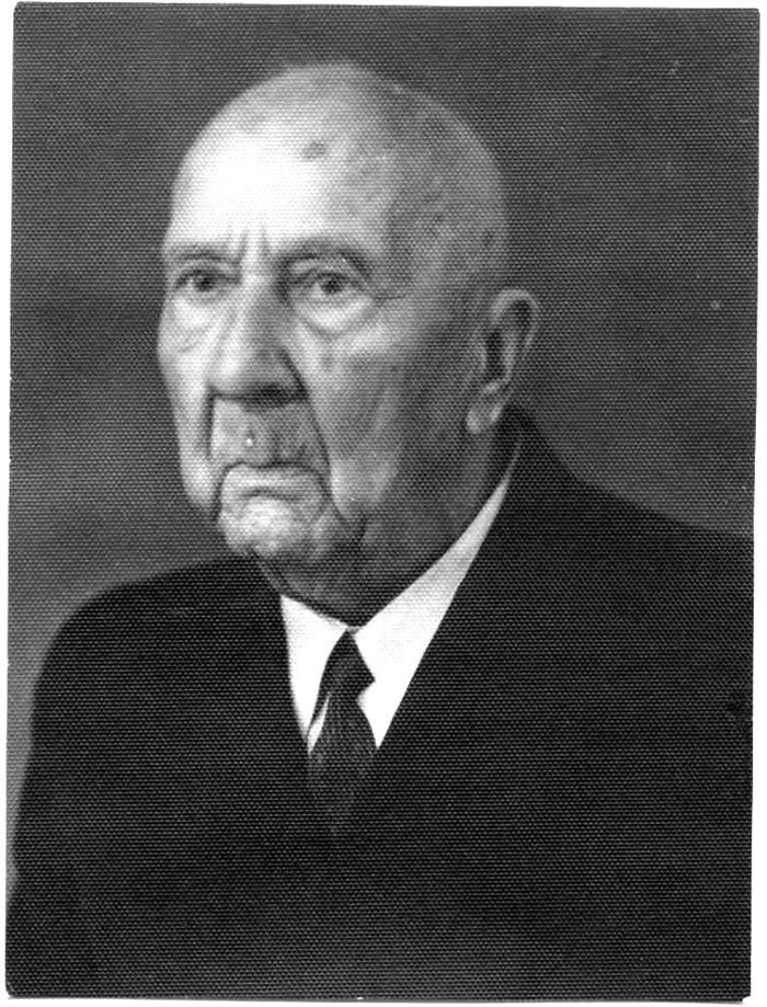 Профессор Домбровский Бронислав Александрович 1937-1939